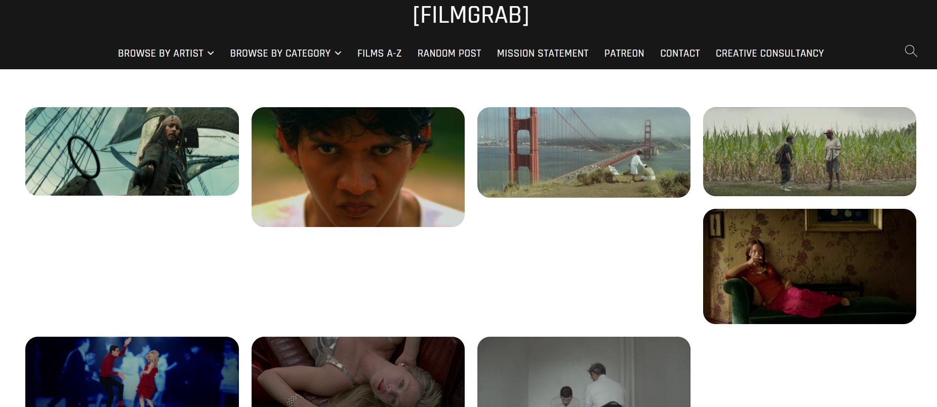FilmGrab 高清电影海报下载网站