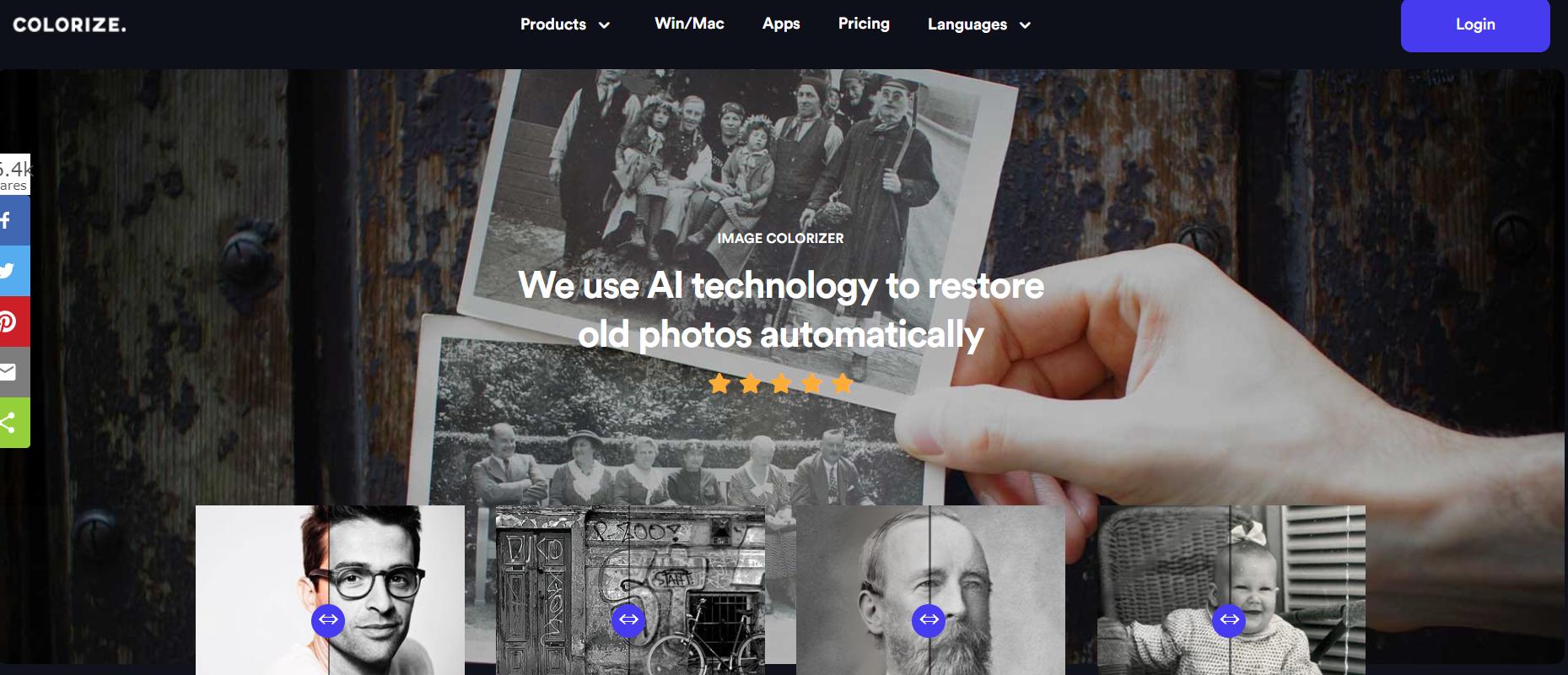 AI图片修复在线网站